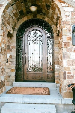 Visionmakers Steel Door with Sidelights 102