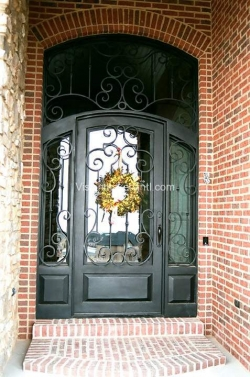 Visionmakers Steel Door with Sidelights 101