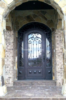 Visionmakers Steel Door with Sidelights 146