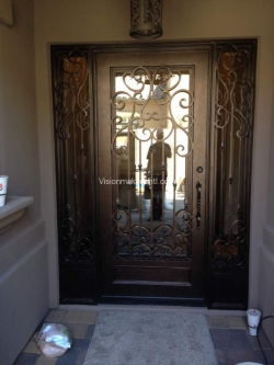 Visionmakers Steel Door with Sidelights 140