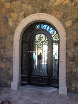 Visionmakers Steel Door with Sidelights 139