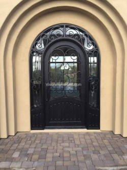 Visionmakers Steel Door with Sidelights 138