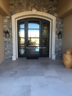 Visionmakers Steel Door with Sidelights 137