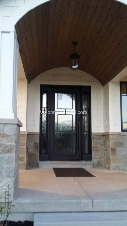 Visionmakers Steel Door with Sidelights 100