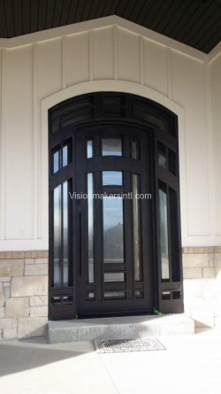 Visionmakers Steel Door with Sidelights 151