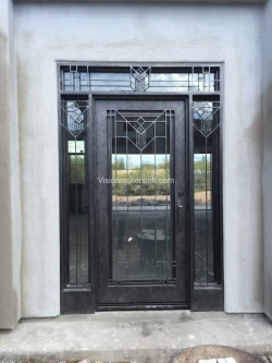 Visionmakers Steel Door with Sidelights 149