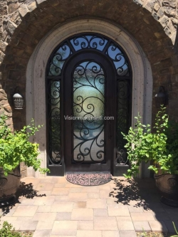 Visionmakers Steel Door with Sidelights 150
