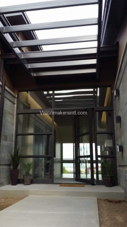 Visionmakers Steel Door with Sidelights 147