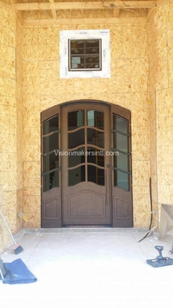 Visionmakers Steel Door with Sidelights 132