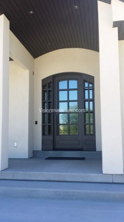 Visionmakers Steel Door with Sidelights 129