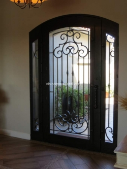 Visionmakers Steel Door with Sidelights 123
