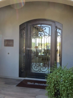 Visionmakers Steel Door with Sidelights 122