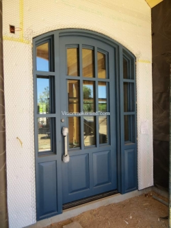 Visionmakers Steel Door with Sidelights 97