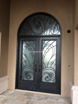 Visionmakers Steel Door with Sidelights 116