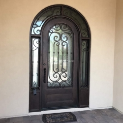 Visionmakers Steel Door with Sidelights 112