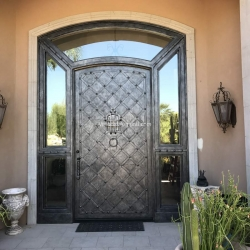 Visionmakers Steel Door with Sidelights 110