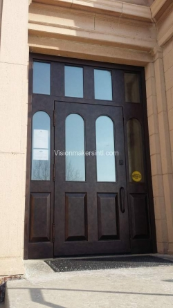 Visionmakers Steel Door with Sidelights 95