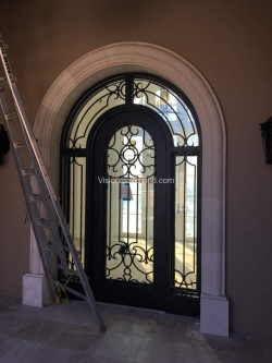 Visionmakers Steel Door with Sidelights 108