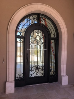 Visionmakers Steel Door with Sidelights 104