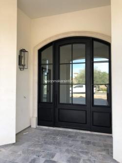 Visionmakers Steel Door with Sidelights 96