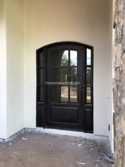 Visionmakers Steel Door with Sidelights 93