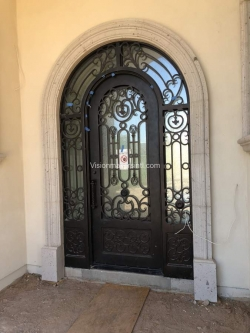 Visionmakers Steel Door with Sidelights 92