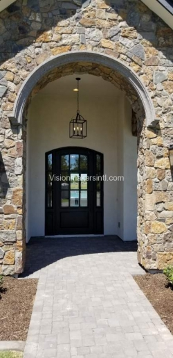 Visionmakers Steel Door with Sidelights 91
