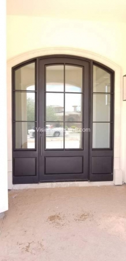 Visionmakers Steel Door with Sidelights 90