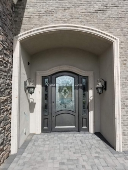 Visionmakers Steel Door with Sidelights 88
