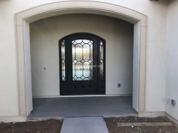 Visionmakers Steel Door with Sidelights 87