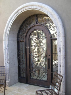 Visionmakers Steel Door with Sidelights 84
