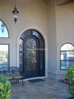Visionmakers Steel Door with Sidelights 83