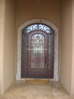 Visionmakers Steel Door with Sidelights 79