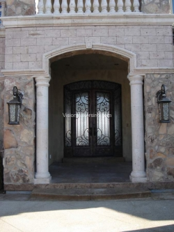 Visionmakers Steel Door with Sidelights 63