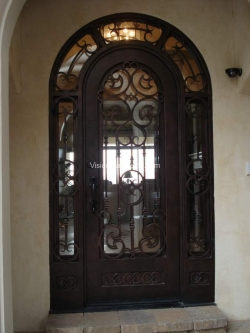 Visionmakers Steel Door with Sidelights 62