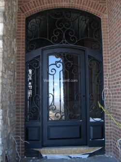 Visionmakers Steel Door with Sidelights 61