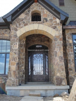 Visionmakers Steel Door with Sidelights 59