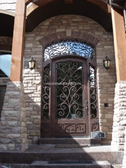 Visionmakers Steel Door with Sidelights 58