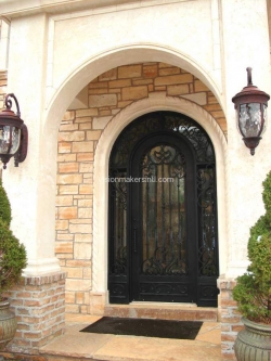 Visionmakers Steel Door with Sidelights 55