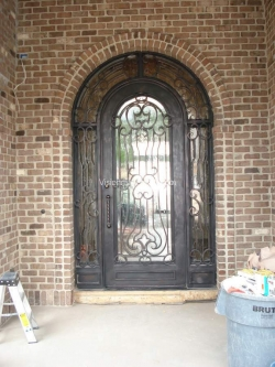 Visionmakers Steel Door with Sidelights 52