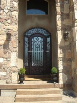 Visionmakers Steel Door with Sidelights 51