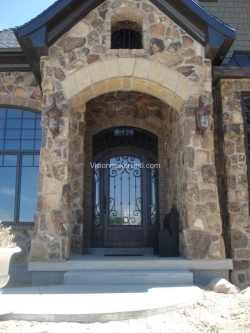 Visionmakers Steel Door with Sidelights 50