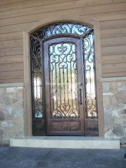 Visionmakers Steel Door with Sidelights 49