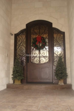 Visionmakers Steel Door with Sidelights 48