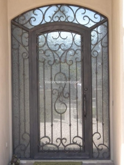 Visionmakers Steel Door with Sidelights 45