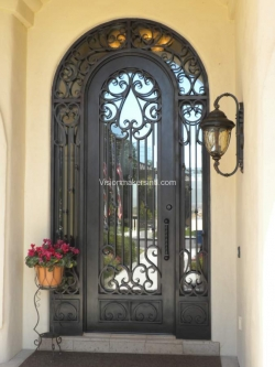 Visionmakers Steel Door with Sidelights 42
