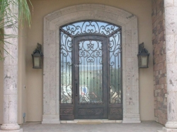 Visionmakers Steel Door with Sidelights 40