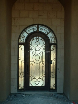 Visionmakers Steel Door with Sidelights 76