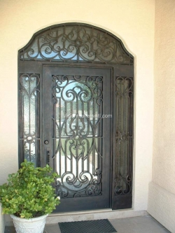 Visionmakers Steel Door with Sidelights 75