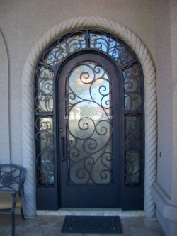 Visionmakers Steel Door with Sidelights 74